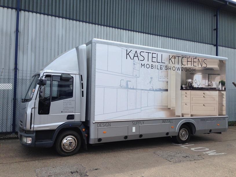 Mobile Kitchen Showroom